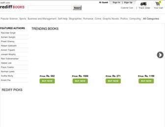 books.rediff.com screenshot