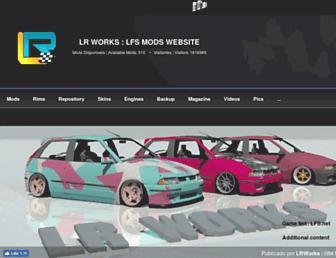 lr-works-mods.tk screenshot