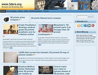 3ders.org screenshot