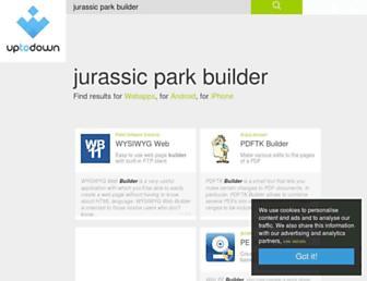 jurassic-park-builder.en.uptodown.com screenshot