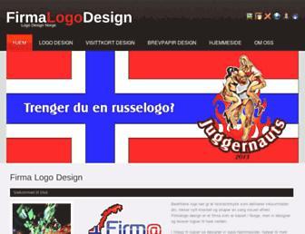 nyfirmalogodesign.no screenshot