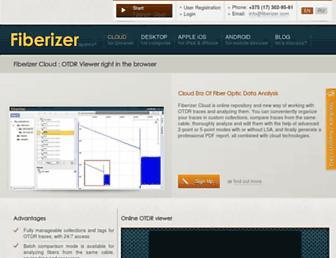 fiberizer.com screenshot