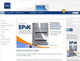 rstahl.com screenshot