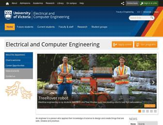 ece.uvic.ca screenshot