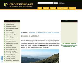 dooneducation.com screenshot