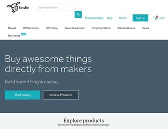 tindie.com screenshot