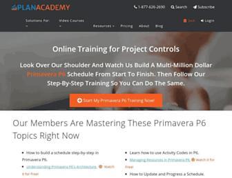 planacademy.com screenshot