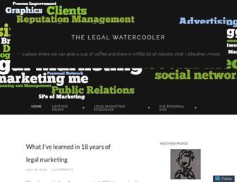 legalwatercoolerblog.com screenshot