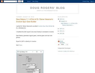 dougrogers.blogspot.com screenshot