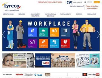 lyreco.com screenshot