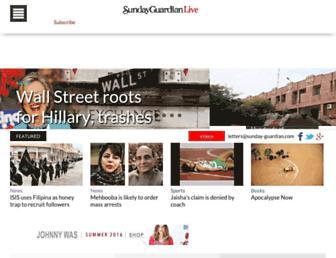 sundayguardianlive.com screenshot