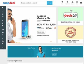 snapdeal.com screenshot