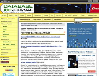 Thumbshot of Databasejournal.com