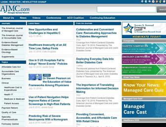 ajmc.com screenshot