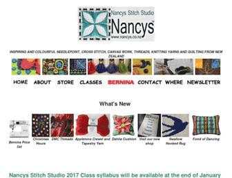 nancys.co.nz screenshot