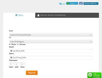 Thumbshot of Flyalmasria.com