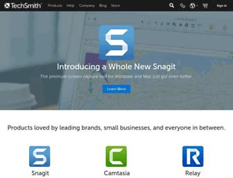 techsmith.com screenshot