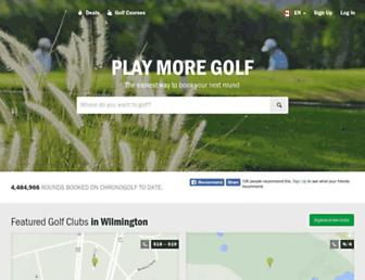 chronogolf.ca screenshot