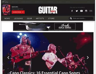 Thumbshot of Guitarworld.com