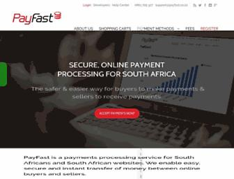Thumbshot of Payfast.co.za