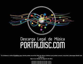 musicachilena.net screenshot