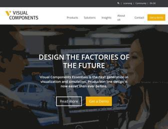 visualcomponents.com screenshot