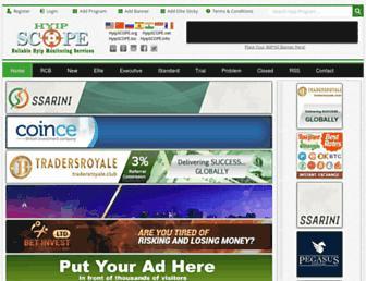 Thumbshot of Hyipscope.org