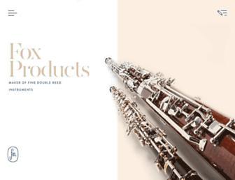 foxproducts.com screenshot
