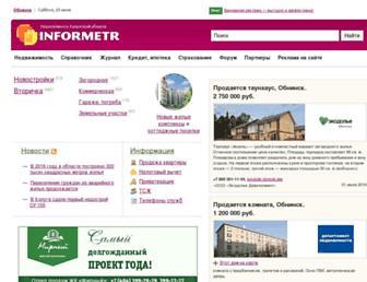 Thumbshot of Informetr.ru