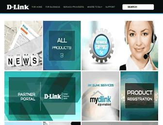 dlinkmea.com screenshot