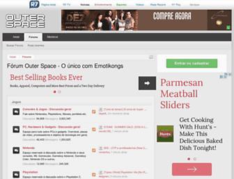forum.outerspace.com.br screenshot