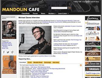 Thumbshot of Mandolincafe.com