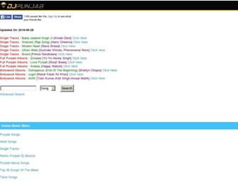 dj-punjabi.com screenshot