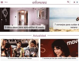 enfemenino.com screenshot