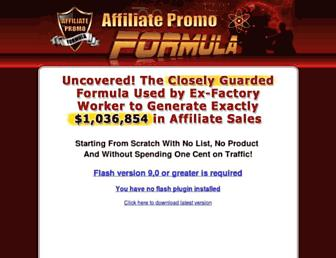 Thumbshot of Affiliatepromoformula.com
