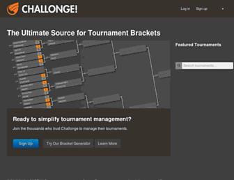 Thumbshot of Challonge.com