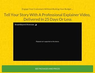 breadnbeyond.com screenshot