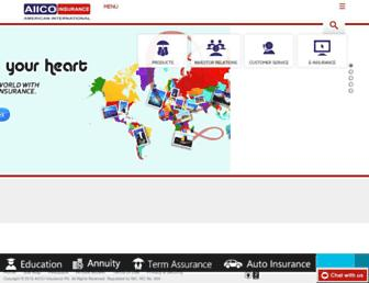 aiicoplc.com screenshot