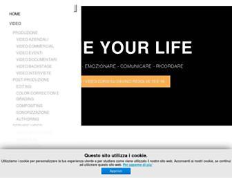 Main page screenshot of studiolab24.it