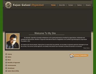 sajangalanihypnosis.net screenshot