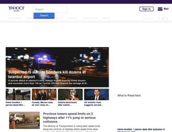 ca.news.yahoo.com screenshot