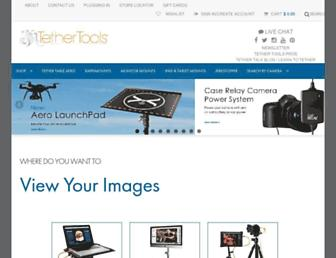 tethertools.com screenshot