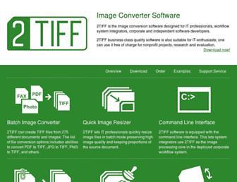 2tiff.com screenshot