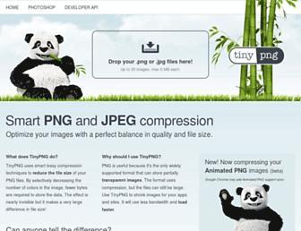 tinyjpg.com screenshot