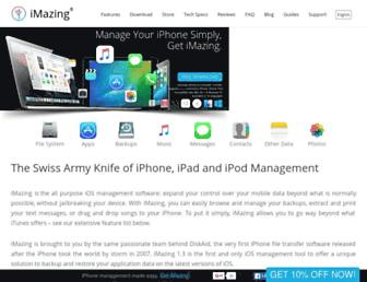imazing.com screenshot