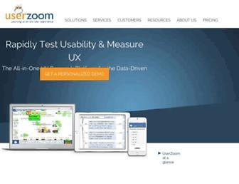 Thumbshot of Userzoom.com