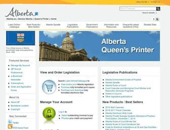 qp.alberta.ca screenshot