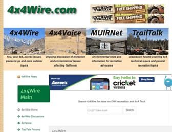 4x4wire.com screenshot
