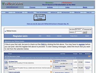 forums.tdiclub.com screenshot