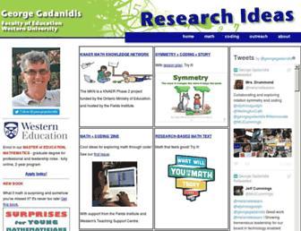 researchideas.ca screenshot